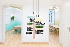 2Day Languages Spanish School Interior – Fubiz™