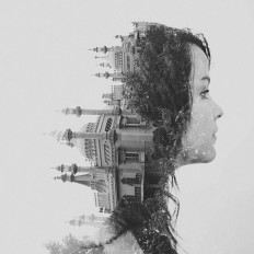 Surreal Double Exposure Photography on Inspirationde