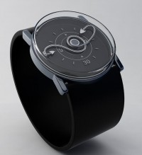 Twisted time analog watch design | Tokyoflash