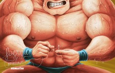 Musculoso Komatsu on