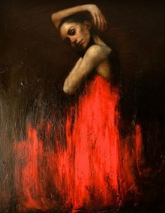 Beautiful figurative paintings by Mark Demsteader - NetDost.com