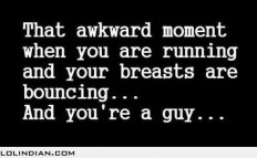 That awkward women when your breasts are bouncing - LOL Indian - Funny Indian Pics and images