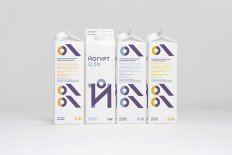 Cheburashkini Brothers Dairy Packaging on
