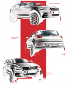 QOROS SUV PROJECT on