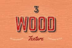 3 Wood individual textures ~ Textures on Creative Market