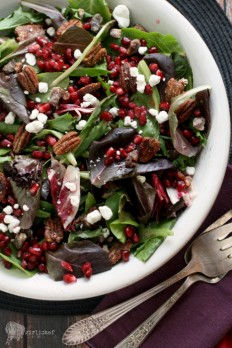 girlichef: Pomegranate Salad - Sharing Morocco blog tour