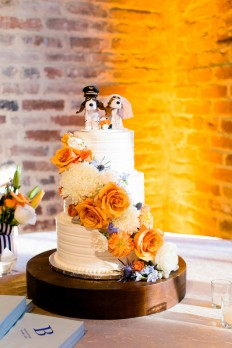An Eclectic Navy and Orange Wedding - Every Last Detail