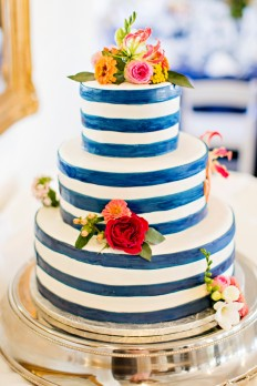 A Nautical Coral and Navy Wedding - Every Last Detail