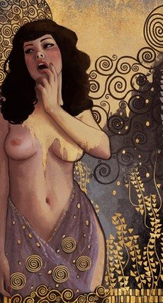 Ode to Klimt by `DanielaUhlig | inspiration | Pinterest