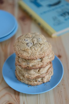 Whole Wheat Chocolate Chip Cashew Cookies | With The Grains