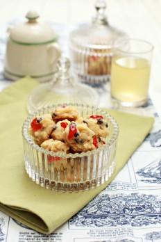 masam manis: Red Pearl Cookies biskut yang sedap sangat...