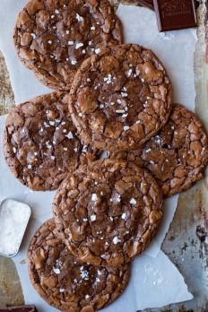 Flourless Salted Pecan Chocolate Cookies - Life Made Simple