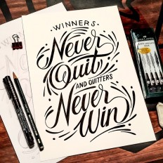 Winners Never Quit on Inspirationde