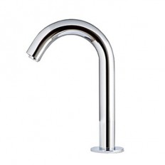 Chrome Finish Sensor Hands Free Contemporary Bathroom Sink Faucet (Cold) - Faucetsmall.com | Bathroom Sink Faucets | Pinterest