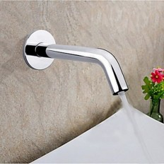 Chrome Finish Sensor Contemporary Hands Free Bathroom Sink Faucet (Cold) - Faucetsmall.com | Bathroom Sink Faucets | Pinterest