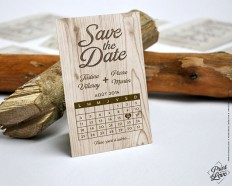 SAVE THE DATE wedding Natura collection by Printyourlovestudio