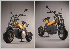 DonGO Modular motorcycle BA Degree project on