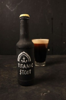 Stout Beer Chalkboard Packaging By Laurence Smith in Photography