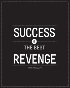 Success is the best Revenge on Inspirationde
