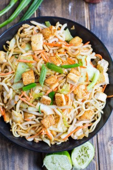 Sriracha Noodles with Tofu - Spicy Southern Kitchen