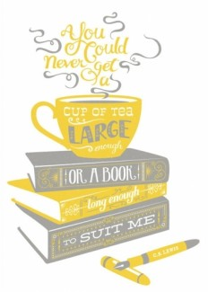 C.S. Lewis Quote Poster in Typography