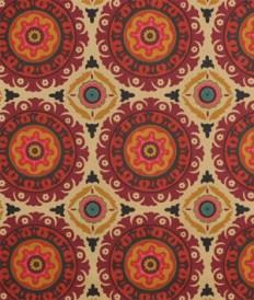Waverly Solar Flair Henna Fabric - $15.2 | onlinefabricstore.net