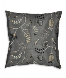 "OFS™ 16"" x 16"" Ashwater Charcoal Embroidered Decorative Pillow - $12.95 
