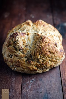 Quick Wattleseed Soda Bread | Chew Town Food Blog