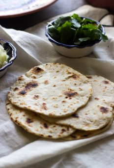 Easy Homemade Garlic Tortillas - Cooking for Keeps