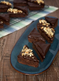 Chocolate Ganache Brownies - Bake or Break