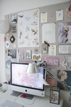 Home office by Iris on Inspirationde