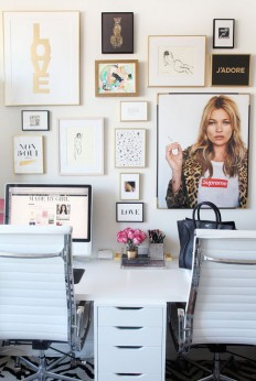 Office Envy: Made by Girl's Jen Ramos on Inspirationde
