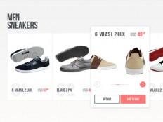 e-commerce snippet by Kreativa Studio