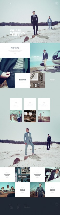 Harrison James | Twofold Graphic & Web Design| Web Design | Pinterest