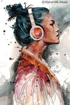 Illustrations by Rahaf Dk Albab on Inspirationde