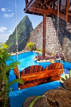Incredible Hotels Never to be Missed - Ladera Resort, St. Lucia | bucket list | Pinterest