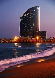 Hotel W Spectacular | Beach Barcelona en bezienswaardigheden | Pinterest
