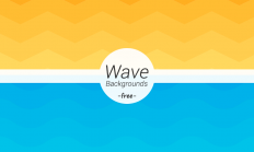 Freebie: Wave Geometric Backgrounds - Dreamstale