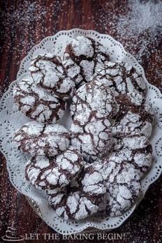 Chocolate Crinkle Cookies Let the Baking Begin!