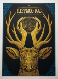 Awesome Gig Poster Designs on Inspirationde