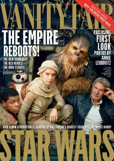 Behind-the-Scenes: Star Wars Cover by Annie Leibovitz