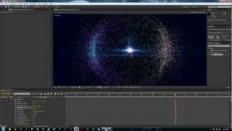 After Effect Tutorial - Trapcode Particular: Particle Sphere - YouTube