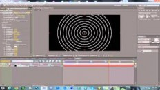 After effects Tutorial (cool circle burst) - YouTube