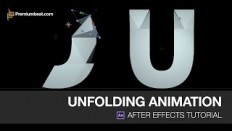 Video Tutorial: Unfolding Animation in Adobe After Effects - YouTube