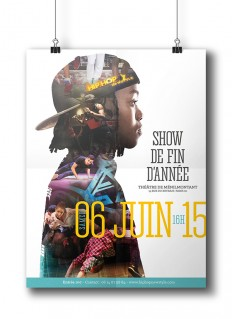 Hip Hop Poster on