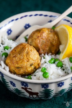 Tandoori Chicken Meatballs - Healthy. Delicious.