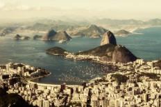 Baía de Guanabara vista do alto do Corcovado - Wikipédia:Wiki Loves Earth 2015/Brasil – Wikipédia, a enciclopédia livre