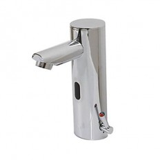 Brass Bathroom Faucet with Automatic Sensor (Chrome Finish) - FaucetSuperDeal.com | Automatic /Sensor Faucets | Pinterest