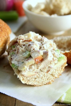 Low-Fat Chicken Salad - Eat. Drink. Love.