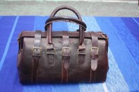 Duffel bag by Leatherfinerwork on Etsy